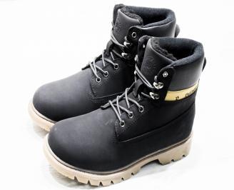 Мъжки  обувки Bulldozer  еко кожа черни