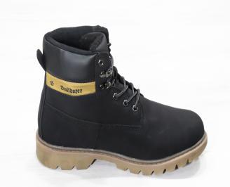 Мъжки  обувки Bulldozer  еко кожа черни 3
