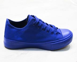 Мъжки  гуменки Bulldozer  текстил сини 3