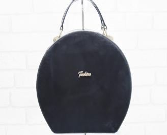 Дамска чанта еко лак/набук