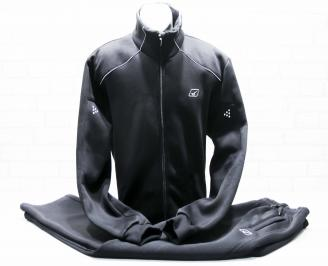 Мъжки спортен екип памук черен-Гигант