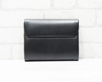 Абитуриентска чанта еко кожа черна