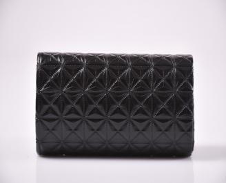 Абитуриентска чанта еко кожа черна 3