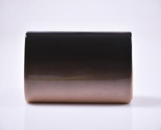 Абитуриентска чанта еко кожа /лак розова 3