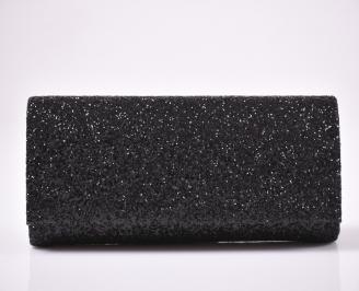 Абитуриентска чанта брокат/черен.