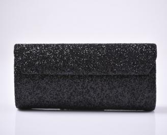 Абитуриентска чанта брокат/черен. 3