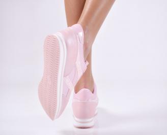 Дамски спортни обувки  пудра 3