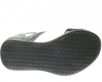 Мъжки спортни обувки естествена кожа бели 3