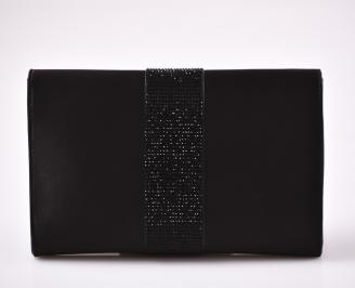 Абитуриентска чанта сатен черна 3