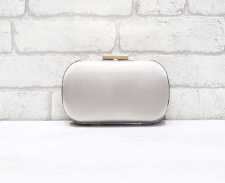 Абитуриентска чанта сатен пудра
