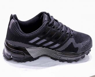 Мъжки маратонки -Гигант текстил черни 3