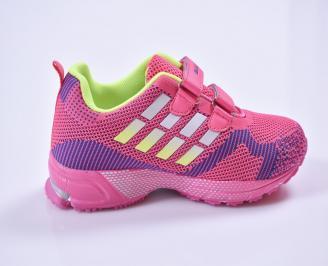 Детски маратонки  розови 3