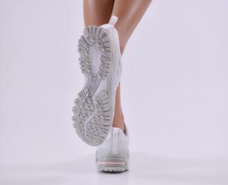 Дамски  маратонки  бели 3