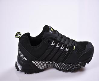 Юношески  маратонки   текстил черни 3