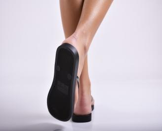 Дамски чехли  черни 3