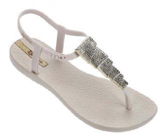 Дамски равни  сандали бежови