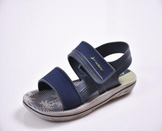 Детски сандали сиви