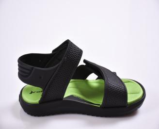 Детски сандали черни 3