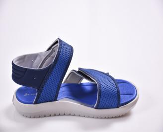 Детски сандали сини 3