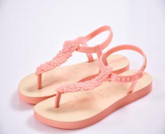 Детски сандали оранжеви