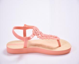 Детски сандали оранжеви 3