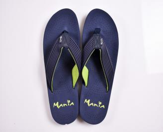 Мъжки джапанки гума сини