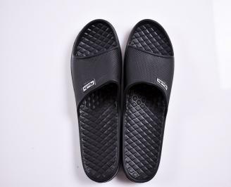 Мъжки джапанки гума черни