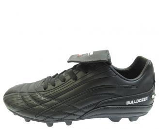 Футболни обувки Bulldozer от еко кожа черни