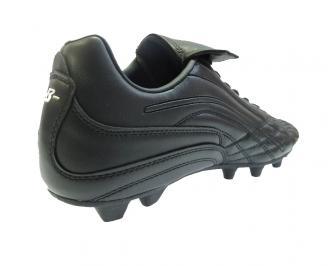 Футболни обувки Bulldozer от еко кожа черни 3