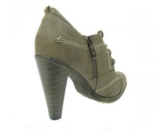 Дамски елегантни обувки  сиви 3