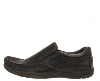 Мъжки ежедневни обувки от естествена кожа кафяви