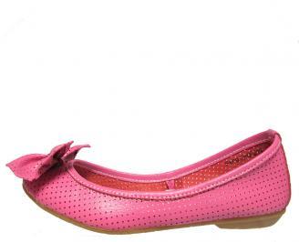 Дамски обувки естествена кожа розови