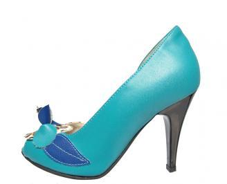 Дамски обувки сини