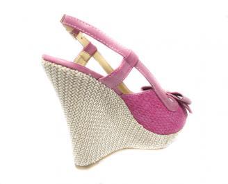 Дамски сандали  розови 3