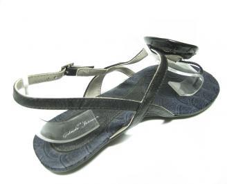 Дамски сандали черни 3