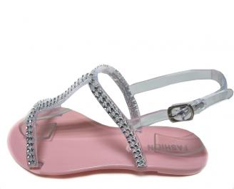 Дамски сандали розови