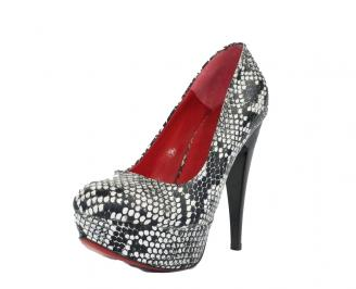 Дамски обувки еко кожа шарени