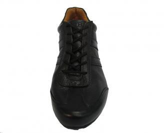 Спортни  обувки  естествена кожа черни 3