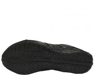 Спортни  обувки  естествена кожа черни