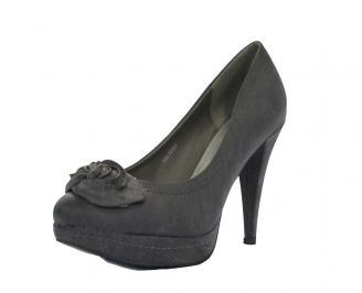 Дамски обувки еко кожа сиви