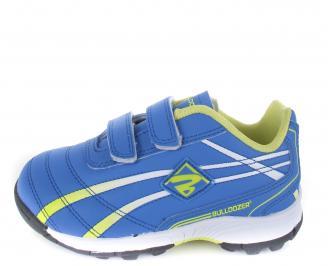 Детски обувки Bulldozer еко кожа сини