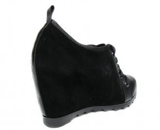 Дамски обувки черни 3