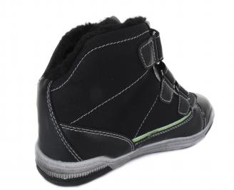Детски обувки черни 3