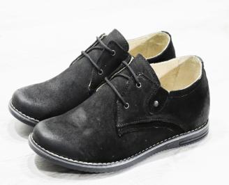 Мъжки ежедневни обувки естествен велур