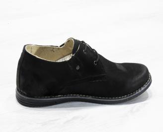 Мъжки ежедневни обувки естествен велур 3