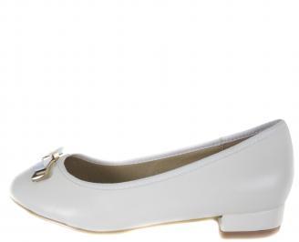 Ежедневни дамски обувки еко кожа бели