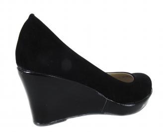 Дамски обувки еко кожа черни 3