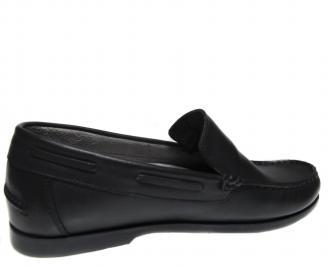 Мъжки обувки-Гигант черни естествена кожа 3