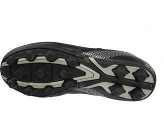 Мъжки футболни обувки  Bulldozer от еко кожа черни 3