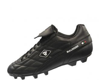 Мъжки футболни обувки Bulldozer от еко кожа черни